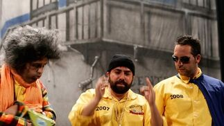 Los que esperando la sentencia se tragaron la penitencia (cuarteto). 1º Premio. Foto: José Braza, Jesús Miró y Lourdes Vicente