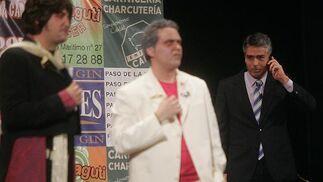 Esta boca es mía (cuarteto). 2º Premio. Foto: José Braza, Jesús Miró y Lourdes Vicente