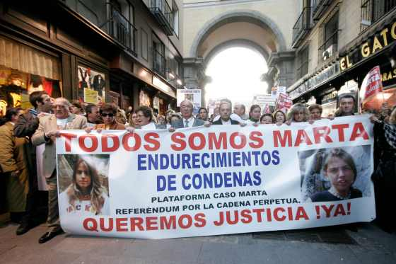 Los manifestantes fueron desde la Plaza Mayor hasta la Puerta del Sol.  Foto: Juan Carlos Vázquez / Alberto Morales