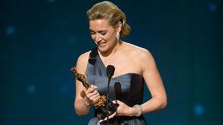 Kate Winslet, Oscar a la Mejor Actriz por 'El lector'.  Foto: Ampas