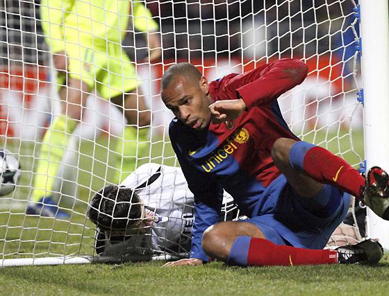 Las imágenes del Olympique-Barça (1-1)