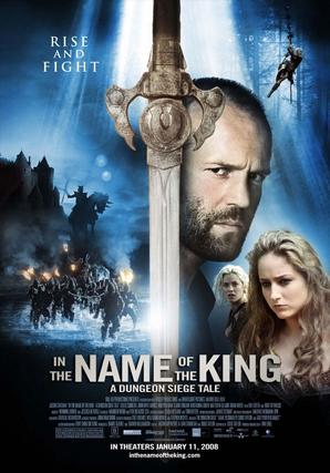 EN EL NOMBRE DEL REY (In the name of the king: A dungeon siege tale) Dirección: Uwe Boll. Interpretación: Jason Statham, John Rhys-Davies, Ray Liotta. Estreno: 27 Febrero de 2009.