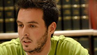 Juan Francisco Gutiérrez durante el debate digital. / Jesús Ochando  Foto: Jes?chando