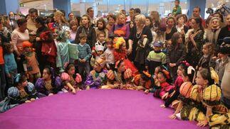 En el concurso participaron treinta finalistas, con edades comprendidas entre 0 y 12 años.  Foto: Jesus Marin