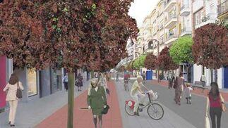Recreación virtual de la calle Asunción