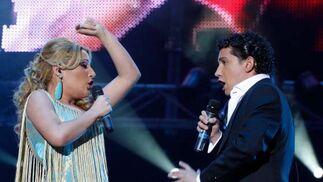 Antonio y Laura, una buena pareja en el escenario.  Foto: Victoria Hidalgo