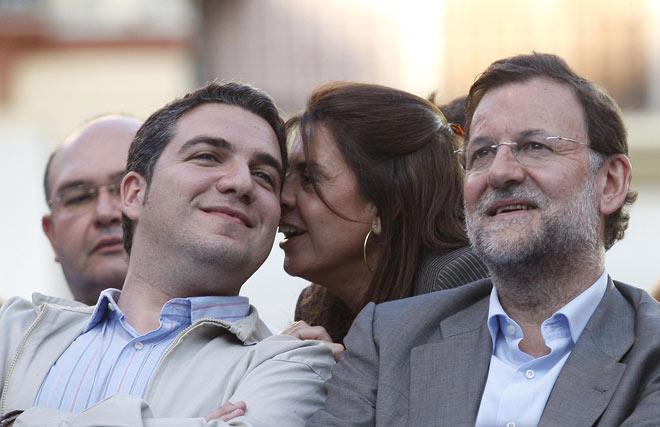 Bendodo y Rajoy  Foto: Sergio Camacho