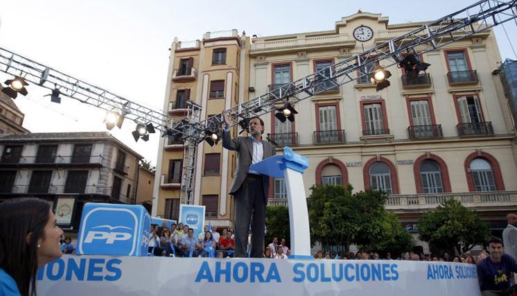 Rajoy  Foto: Sergio Camacho