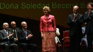 Soledad Jiménez Becerril, una de las alcaldesas de la democracia sevillana.  Foto: Juan Carlos Muñoz