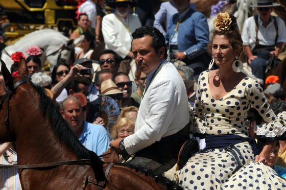 El empresario Gonzalo de Madariaga, presidente del grupo MP.  Foto: Caras conocidas ante la ermita