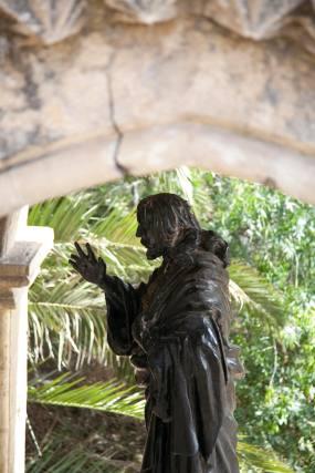 San Onofre con las grietas.  Foto: Jaime Martínez