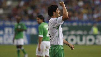 Luque marcó uno de los goles de su equipo.   Foto: Sergio Camacho