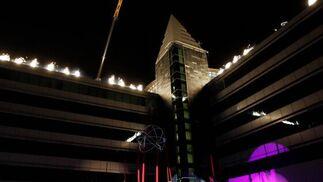 Después de cuatro años y una inversión de más de 40 millones, el edificio 'Forum de Negocios' fué presentado ayer en un acto conducido por Silvia Sanz.  Foto: Villoslada