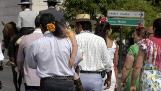El cansancio se refleja tras varios días de peregrinación.  Foto: Belén Vargas, Manuel Gómez