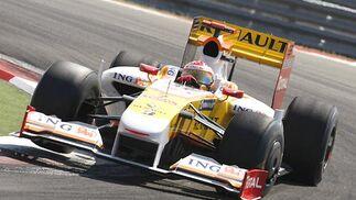 Alonso (Renault).  Foto: AFP Photo / Reuters / EFE