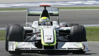 Button (Brawn GP).  Foto: AFP Photo / Reuters / EFE