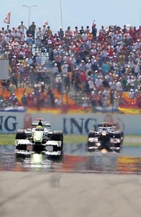 Button y Vettel.  Foto: AFP Photo / Reuters / EFE