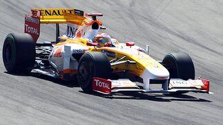 El piloto español de Renault Fernando Alonso.  Foto: AFP Photo / Reuters / EFE