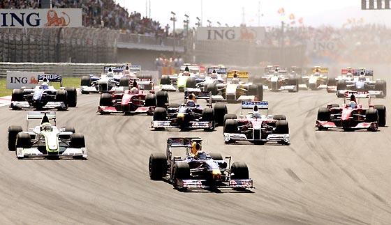 Salida de la carrera.  Foto: AFP Photo / Reuters / EFE