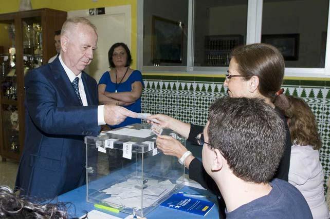 Pedro Fernández Montes, alcalde de Torremolinos.