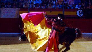 Los toros de Torrestrella, aunque desiguales, fueron aceptables de presentación y resultaron nobles.  Foto: Patri Díez