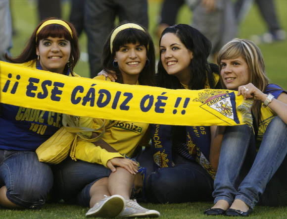 Los amarillos se proclamaron campeones tras empatar con el Cartagena en un partido que pudo terminar con goleada local  Foto: Joaquin Pino