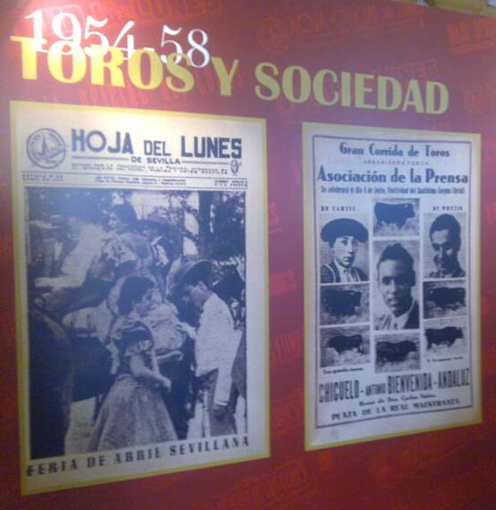 Feria de Abril y La Maestranza.