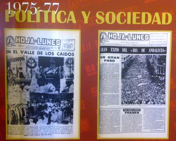 Del fin del régimen a la autonomía andaluza.