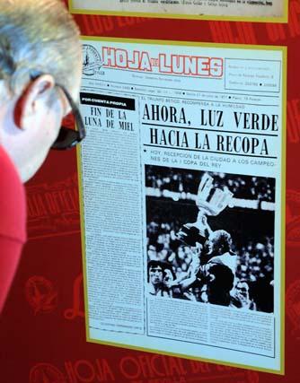 La portada del triunfo del Betis en la Copa del Rey de 1977.