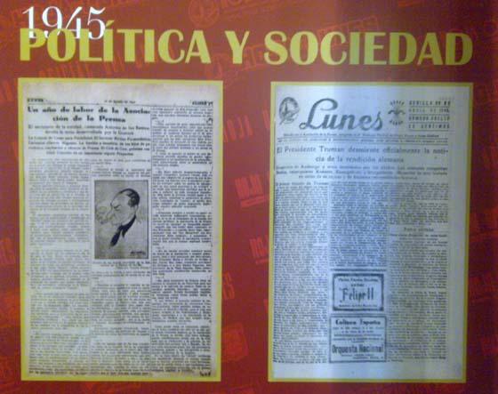 Una reseña sobre la Asociación de la Prensa y la rendición alemana.