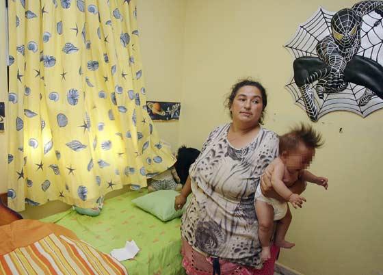 Estado de la habitación de los más pequeños.  Foto: Antonio Pizarro