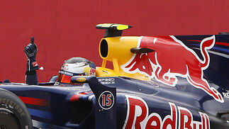 Vettel (Red Bull).  Foto: Reuters / Afp Photo