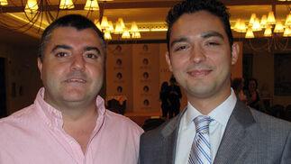 Javier León, de Barbadillo, e Iván Salas, de Hostería Salas.  Foto: Victoria Ramírez