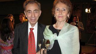 Luis Rey Romero, director del colegio San Francisco de Paula, con su esposa, María Isabel Goñi.  Foto: Victoria Ramírez