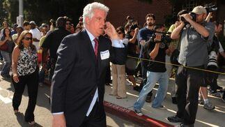 Brian Oxman, uno de los abogados de la familia en el hospital de UCLA.  Foto: Reuters, Efe, Afp