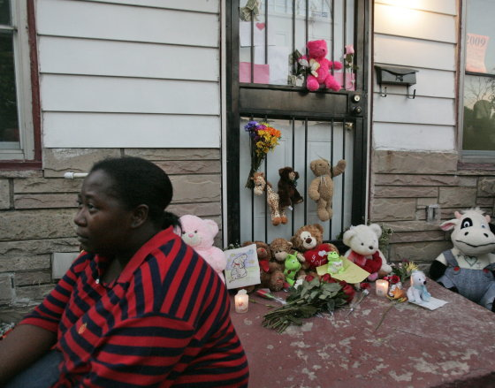 Peluches en la casa natal de Jackson en Gary, Indiana.  Foto: Reuters, Efe, Afp