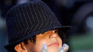 Un pequeño imitador del cantante.  Foto: Reuters, Efe, Afp