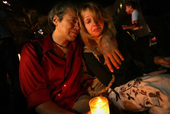 Los fans lloran la pérdida de Michael.  Foto: Reuters, Efe, Afp