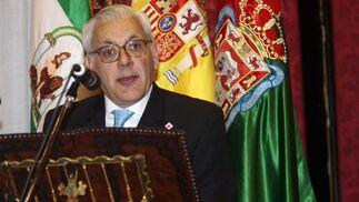 El pregonero de este año, José Luis Pérez-Serrabona  Foto: María de la Cruz