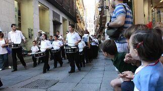 La banda municipal de Ogíjares hizo las delicias de los más pequeños  Foto: Jesús Ochando