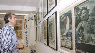 Se trata de una serie de anuncios de Brandy que suponen sólo una parte de la amplia Colección Roberto Amillo de objetos relacionados con esta bebida espirituosa  Foto: Vanesa Lobo