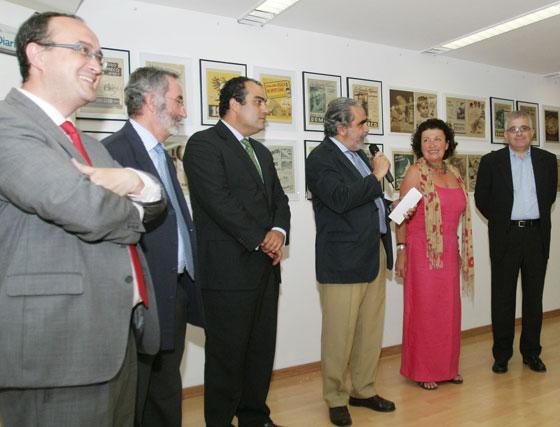 El espacio cultural de Diario de Jerez, 'ArteaDiario', acoge hasta el día 18 de junio, la exposición 'Un espíritu, una mirada'.   Foto: Vanesa Lobo