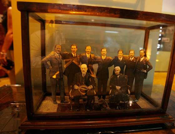 Una de las imágenes que se puede ver en la exposición de miembros de la familia.   Foto: Pascual