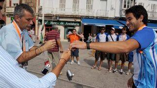 El izado de banderas, acto previo al inicio de los Juegos Iberoamericanos en San Fernando.   Foto: Elias Pimentel