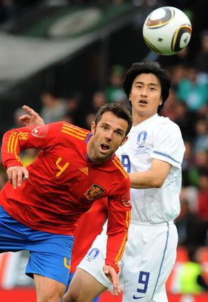 Las imágenes del España-Corea