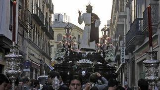 El Cristo de la hermandad de la Sagrada Cena.  Foto: Juan Carlos Váquez