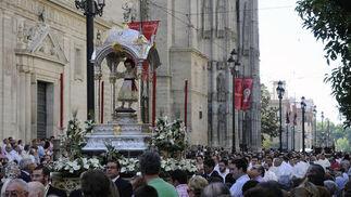 Paso del Niño Jesús del Sagrario.  Foto: Juan Carlos Váquez