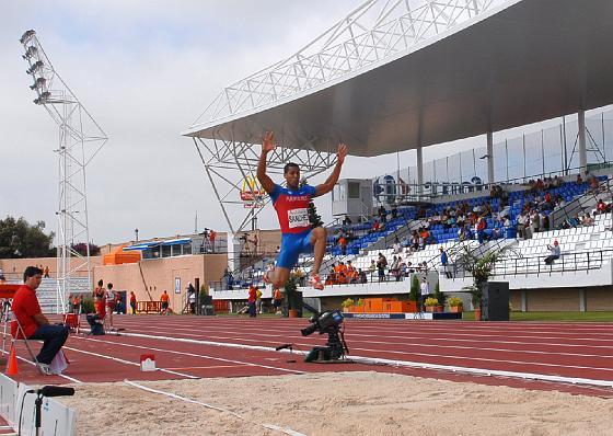Las pistas de Bahía Sur acogen las primeras pruebas del Iberoamericano de Atletismo  Foto: Rioja