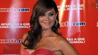 La ex miss España y presentadora María José Suárez.  Foto: Victoria Ramírez