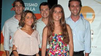 Faustino Martínez, María Mangas, Pablo Martínez Alcalá, Mercedes Pumar y Joaquín Muñiz.   Foto: Victoria Ramírez